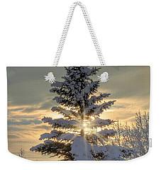 Spirit Tree Weekender Tote Bag by Brad Allen Fine Art