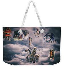 Spirits In The Sky Weekender Tote Bag