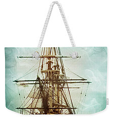 Weekender Tote Bag featuring the photograph Spirits Of A Ship by John Rivera