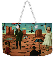 Spirits Of The Flying Umbrellas 3  Weekender Tote Bag