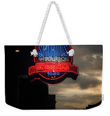Spirits On Bourbon Weekender Tote Bag