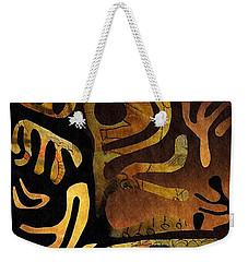 Spiritual Drummer Weekender Tote Bag by Sarah Loft