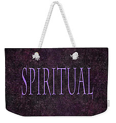 Spiritual Weekender Tote Bag