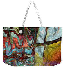 Weekender Tote Bag featuring the photograph Spirit Quest by Kathie Chicoine