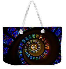 Spiritual Spiral Weekender Tote Bag by Inge Johnsson