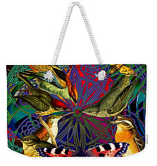 Spiritual Sun Behind The Sun Weekender Tote Bag by Joseph Mosley