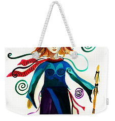 Spiritual Warrior Weekender Tote Bag