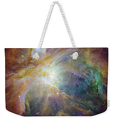 Spitzer And Hubble Create Colorful Masterpiece Weekender Tote Bag by R Muirhead Art