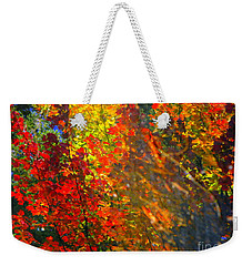 Splash Weekender Tote Bag by Elfriede Fulda