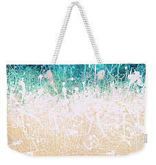 Splash Weekender Tote Bag by Jaison Cianelli