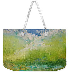 Splash Weekender Tote Bag by Kathy  Karas