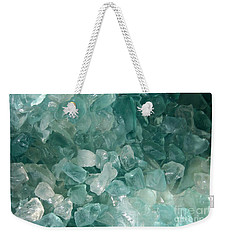 Weekender Tote Bag featuring the photograph Splash by Kristine Nora