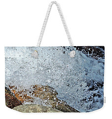 Weekender Tote Bag featuring the photograph Splash by Lynda Lehmann