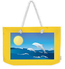 Splash Weekender Tote Bag by Now
