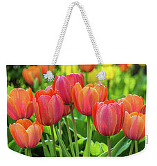Weekender Tote Bag featuring the photograph Splash Of April Color by Bill Pevlor