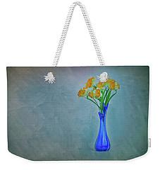 Splash Of Blue And Yellow Weekender Tote Bag
