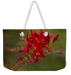 Splash Of Red. Weekender Tote Bag