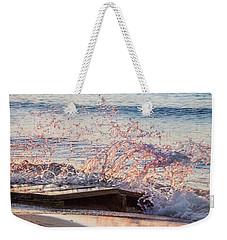 Splashed Onto The Scene Weekender Tote Bag