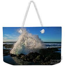 Splashing The Coast Weekender Tote Bag