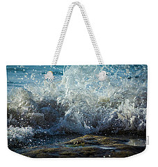 Splashing Wave Weekender Tote Bag