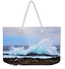 Splashing Waves Of Tsitsikamma Weekender Tote Bag by Jeff at JSJ Photography
