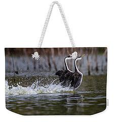 Splashy Dancers Weekender Tote Bag