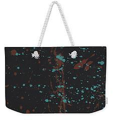 Splatter Ts Weekender Tote Bag