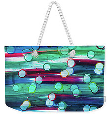 splatterdash No.2 Weekender Tote Bag by Tom Druin