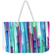 Splatterdash Weekender Tote Bag by Tom Druin