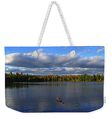 Splendid Autumn View Panoramic Weekender Tote Bag