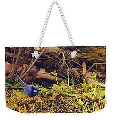 Splendid Fairy Wren Weekender Tote Bag by Cassandra Buckley