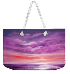 Splendid Purple Weekender Tote Bag