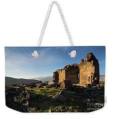 Splendid Ruins Of St. Grigor Church In Karashamb, Armenia Weekender Tote Bag
