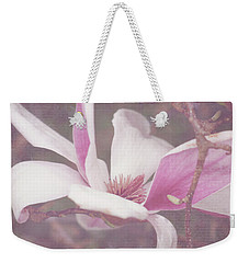 Weekender Tote Bag featuring the photograph Splendid Tulip Tree  by Toni Hopper