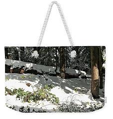 The Splendour Of Snow Weekender Tote Bag