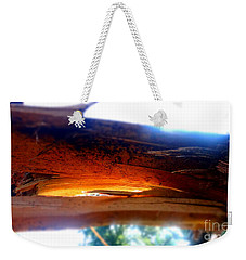 Splintered After The Storm Weekender Tote Bag by Justin  Moore