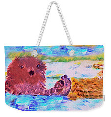 Splish Splash Weekender Tote Bag