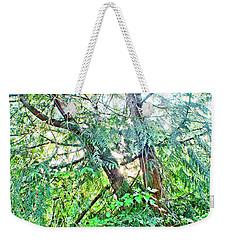 Split Cedar Weekender Tote Bag by Adria Trail