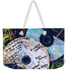 Split Weekender Tote Bag