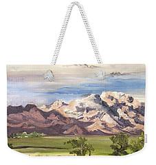 Split Mountain Weekender Tote Bag