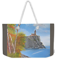 Split Rock Lighthouse Minnesota Weekender Tote Bag