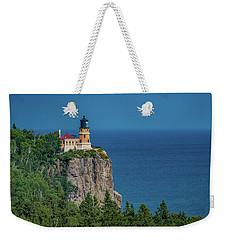 Split Rock Lighthouse View Weekender Tote Bag