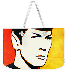 Spock Vulcan Star Trek Pop Art Weekender Tote Bag
