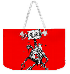 Sponge Head Weekender Tote Bag