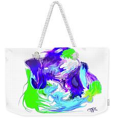 Spontaneous Flash Weekender Tote Bag