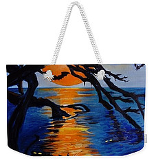 Spooky Hollow - Painting Weekender Tote Bag