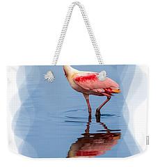 Spoonbill 3 Weekender Tote Bag