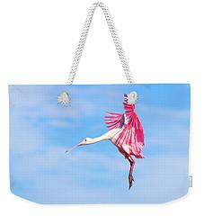Spoonbill Ballet Weekender Tote Bag