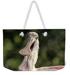 Spoonbill Talk Weekender Tote Bag