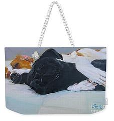 Spooning  Weekender Tote Bag